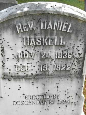 HASKELL, REV. DANIEL - Baltimore County, Maryland | REV. DANIEL HASKELL - Maryland Gravestone Photos