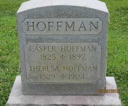 HOFFMAN, CASPER - Baltimore County, Maryland | CASPER HOFFMAN - Maryland Gravestone Photos