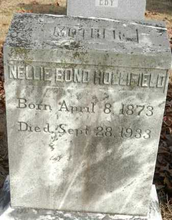 BOND HOLLIFIELD, NELLIE - Baltimore County, Maryland | NELLIE BOND HOLLIFIELD - Maryland Gravestone Photos