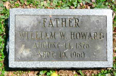 HOWARD, WILLIAM W. - Baltimore County, Maryland | WILLIAM W. HOWARD - Maryland Gravestone Photos
