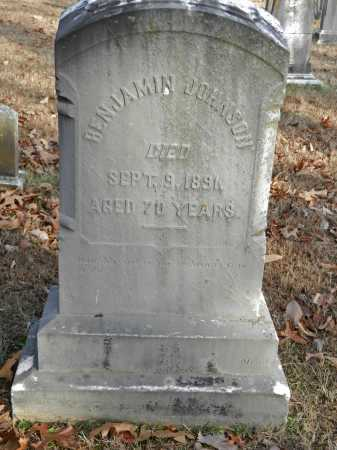 JOHNSON, BENJAMIN - Baltimore County, Maryland | BENJAMIN JOHNSON - Maryland Gravestone Photos