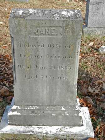 JOHNSON, JANE - Baltimore County, Maryland | JANE JOHNSON - Maryland Gravestone Photos
