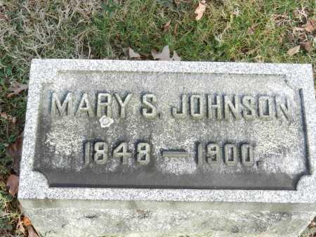 JOHNSON, MARY S - Baltimore County, Maryland | MARY S JOHNSON - Maryland Gravestone Photos