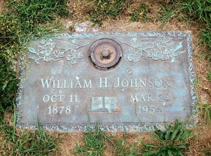 JOHNSON, WILLIAM H - Baltimore County, Maryland | WILLIAM H JOHNSON - Maryland Gravestone Photos