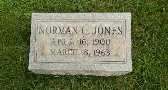 JONES, NORMAN C - Baltimore County, Maryland | NORMAN C JONES - Maryland Gravestone Photos