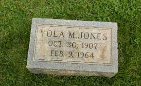 JONES, VOLA M - Baltimore County, Maryland | VOLA M JONES - Maryland Gravestone Photos