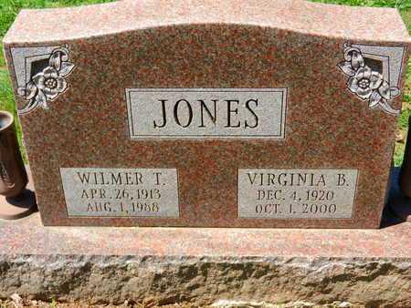 JONES, WILMER T. - Baltimore County, Maryland | WILMER T. JONES - Maryland Gravestone Photos