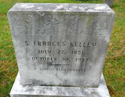 KELLEY, S. FRANCES - Baltimore County, Maryland | S. FRANCES KELLEY - Maryland Gravestone Photos