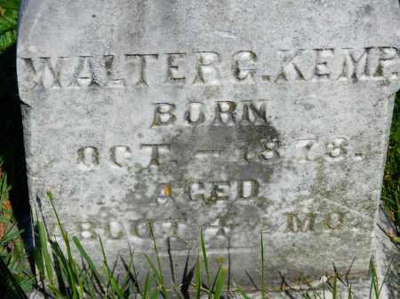 KEMP, WALTER G. - Baltimore County, Maryland | WALTER G. KEMP - Maryland Gravestone Photos