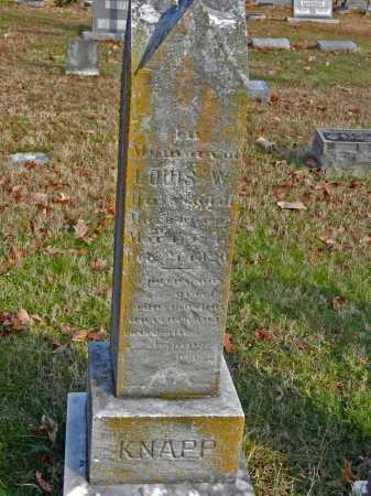 KNAPP, LOUIS W - Baltimore County, Maryland | LOUIS W KNAPP - Maryland Gravestone Photos