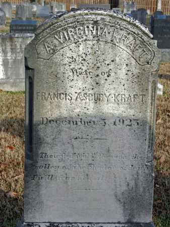 KRAFT, ALVERTA VIRGINIA - Baltimore County, Maryland   ALVERTA VIRGINIA KRAFT - Maryland Gravestone Photos