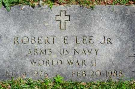 LEE, JR., ROBERT E. - Baltimore County, Maryland   ROBERT E. LEE, JR. - Maryland Gravestone Photos