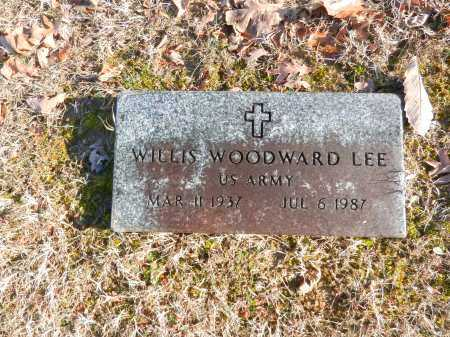 LEE, WILLIS WOODWARD - Baltimore County, Maryland | WILLIS WOODWARD LEE - Maryland Gravestone Photos