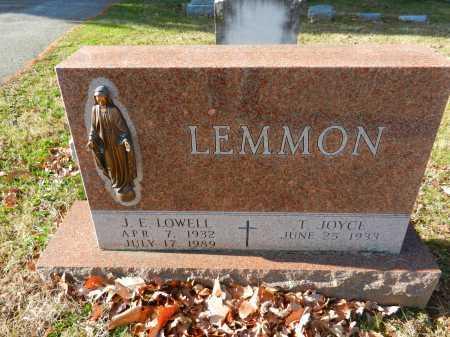 LEMMON, J. E. - Baltimore County, Maryland   J. E. LEMMON - Maryland Gravestone Photos