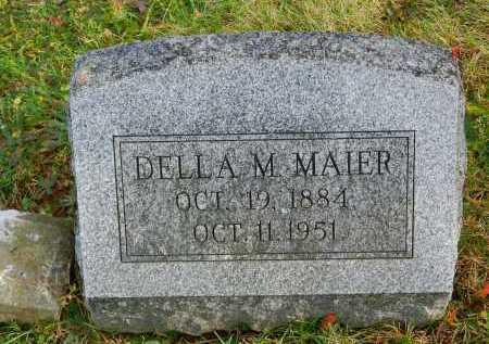 MAIER, DELLA M. - Baltimore County, Maryland   DELLA M. MAIER - Maryland Gravestone Photos