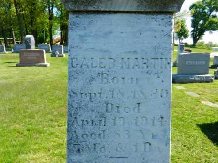 MARTIN, CALEB - Baltimore County, Maryland | CALEB MARTIN - Maryland Gravestone Photos