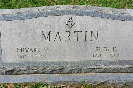 MARTIN, RUTH D. - Baltimore County, Maryland | RUTH D. MARTIN - Maryland Gravestone Photos