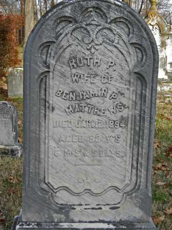 MATTHEWS, RUTH - Baltimore County, Maryland | RUTH MATTHEWS - Maryland Gravestone Photos