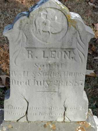 MAYES, R. LEON - Baltimore County, Maryland | R. LEON MAYES - Maryland Gravestone Photos