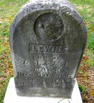MAYS, LEWIS - Baltimore County, Maryland | LEWIS MAYS - Maryland Gravestone Photos