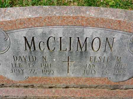 MCCLIMON, ELSIE M. - Baltimore County, Maryland | ELSIE M. MCCLIMON - Maryland Gravestone Photos