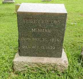 MCMANN, FRISBY COLLINS - Baltimore County, Maryland | FRISBY COLLINS MCMANN - Maryland Gravestone Photos