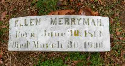 MERRYMAN, ELLEN - Baltimore County, Maryland   ELLEN MERRYMAN - Maryland Gravestone Photos