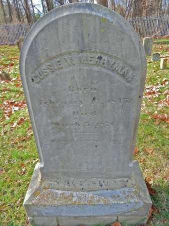 MERRYMAN, GUSSIE V. - Baltimore County, Maryland | GUSSIE V. MERRYMAN - Maryland Gravestone Photos