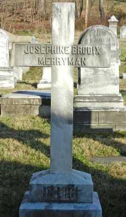MERRYMAN, JOSEPHINE - Baltimore County, Maryland   JOSEPHINE MERRYMAN - Maryland Gravestone Photos