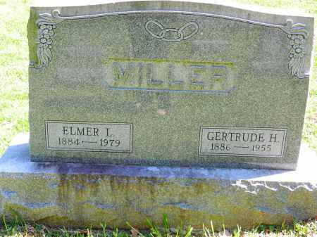 MILLER, GERTRUDE H. - Baltimore County, Maryland | GERTRUDE H. MILLER - Maryland Gravestone Photos