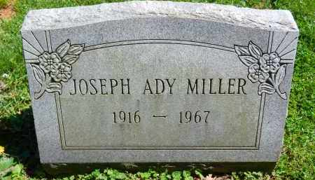 MILLER, JOSEPH ADY - Baltimore County, Maryland | JOSEPH ADY MILLER - Maryland Gravestone Photos