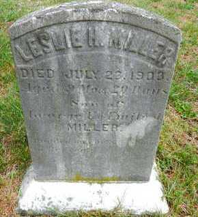 MILLER, LESLIE H. - Baltimore County, Maryland | LESLIE H. MILLER - Maryland Gravestone Photos