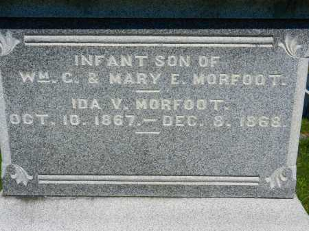 MORFOOT, IDA V. - Baltimore County, Maryland | IDA V. MORFOOT - Maryland Gravestone Photos