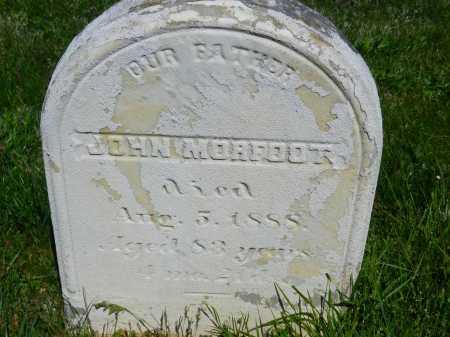 MORFOOT, JOHN - Baltimore County, Maryland | JOHN MORFOOT - Maryland Gravestone Photos