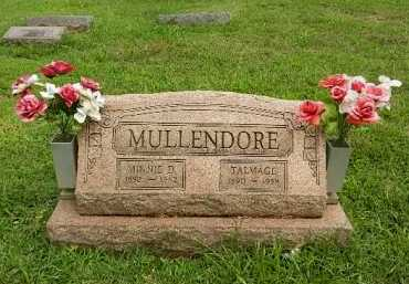 MULLENDORE, MINNIE D - Baltimore County, Maryland | MINNIE D MULLENDORE - Maryland Gravestone Photos