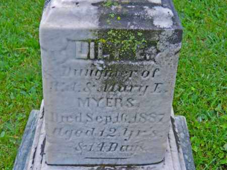 MYERS, LILY E. - Baltimore County, Maryland | LILY E. MYERS - Maryland Gravestone Photos