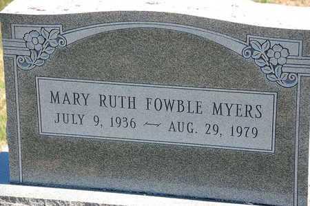 MYERS, MARY RUTH - Baltimore County, Maryland | MARY RUTH MYERS - Maryland Gravestone Photos