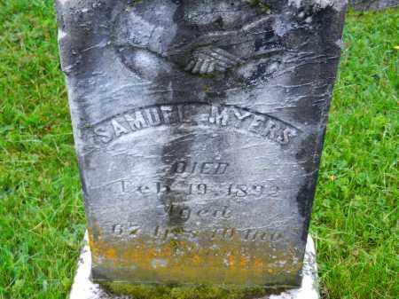 MYERS, SAMUEL - Baltimore County, Maryland | SAMUEL MYERS - Maryland Gravestone Photos
