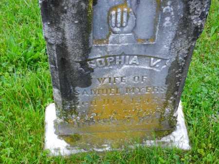MYERS, SOPHIA V. - Baltimore County, Maryland | SOPHIA V. MYERS - Maryland Gravestone Photos