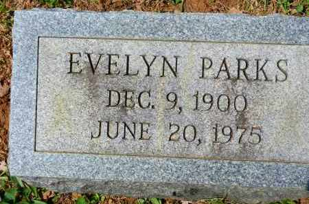 PARKS, EVELYN - Baltimore County, Maryland | EVELYN PARKS - Maryland Gravestone Photos