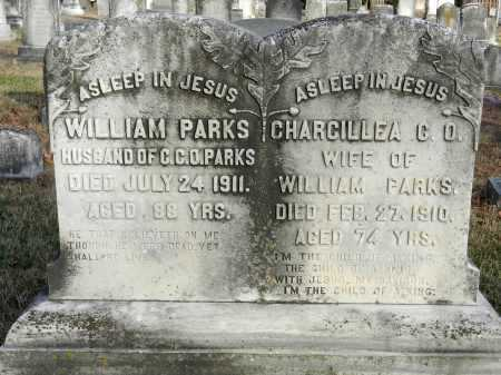 PARKS, WILLIAM - Baltimore County, Maryland | WILLIAM PARKS - Maryland Gravestone Photos