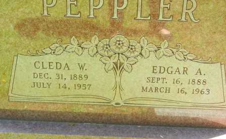 PEPPLER, EDGAR A. - Baltimore County, Maryland   EDGAR A. PEPPLER - Maryland Gravestone Photos