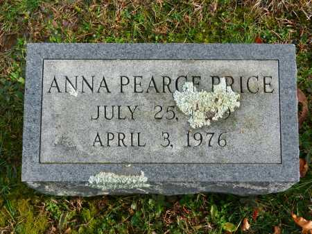 PRICE, ANNA PEARCE - Baltimore County, Maryland | ANNA PEARCE PRICE - Maryland Gravestone Photos
