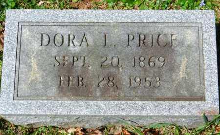 PRICE, DORA L. - Baltimore County, Maryland | DORA L. PRICE - Maryland Gravestone Photos
