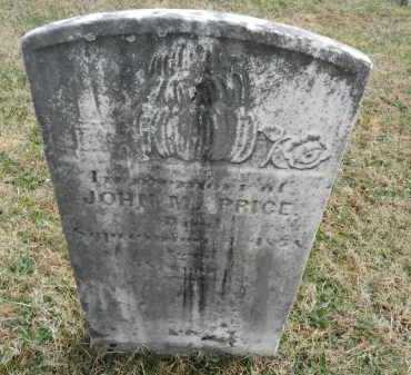 PRICE, JOHN M. - Baltimore County, Maryland | JOHN M. PRICE - Maryland Gravestone Photos