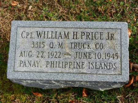PRICE, JR., CPL. WILLIAM H. - Baltimore County, Maryland | CPL. WILLIAM H. PRICE, JR. - Maryland Gravestone Photos