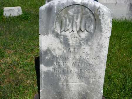 PRICE, MARY E. - Baltimore County, Maryland | MARY E. PRICE - Maryland Gravestone Photos