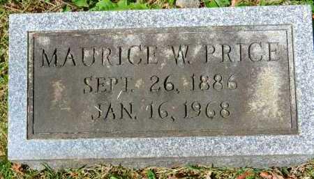 PRICE, MAURICE W. - Baltimore County, Maryland | MAURICE W. PRICE - Maryland Gravestone Photos