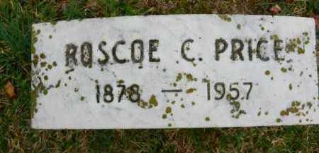 PRICE, ROSCOE C - Baltimore County, Maryland   ROSCOE C PRICE - Maryland Gravestone Photos