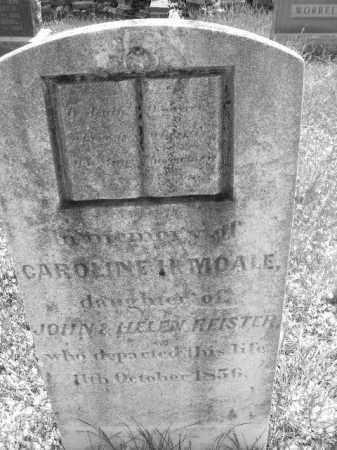 REISTER, CAROLINE I*MOALE - Baltimore County, Maryland | CAROLINE I*MOALE REISTER - Maryland Gravestone Photos